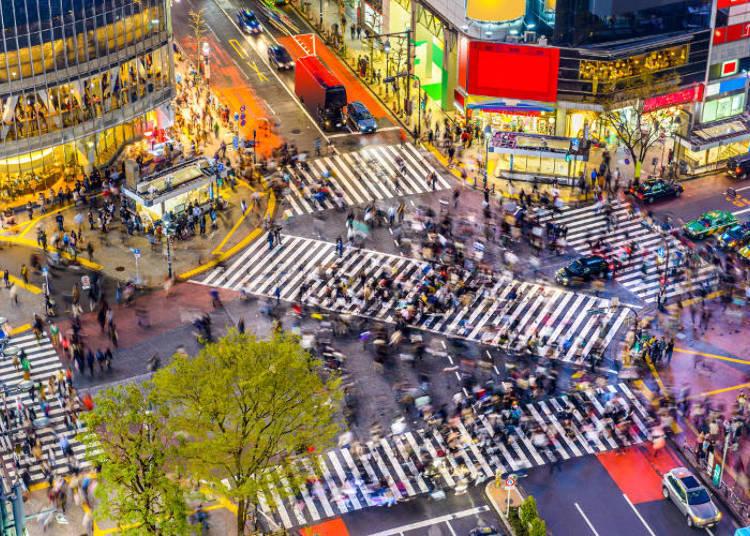 渋谷のナイトライフ