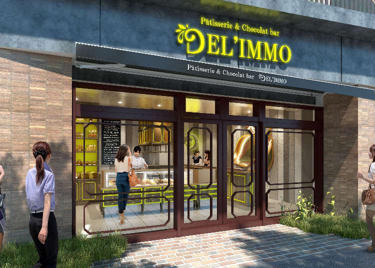 """""""DEL'IMMO"""" 2号店,以大人的巧克力酒吧风格新登场!"""