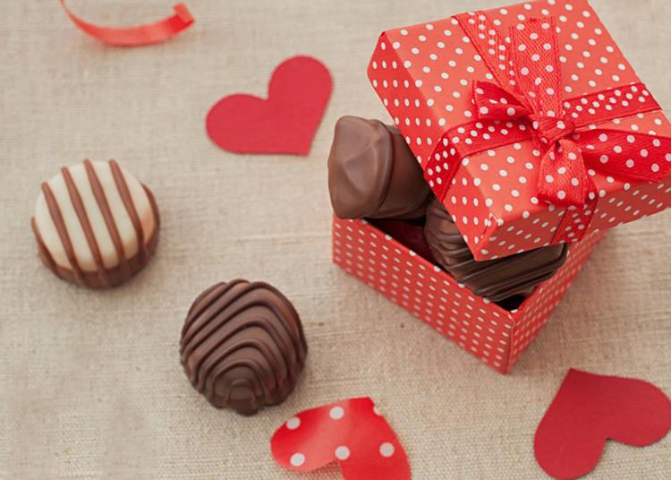 Types of Valentine's Chocolate
