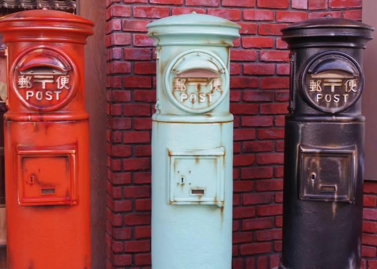 新年は日本の郵便局の繁忙期
