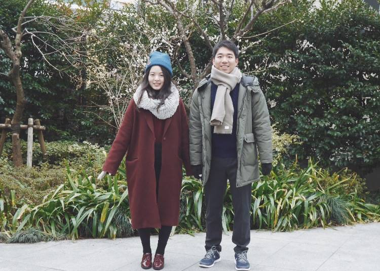 東京的冬季服裝穿搭小建議