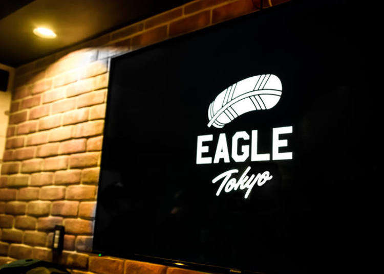 新宿にオープンしたばかりのバー「Eagle Tokyo」