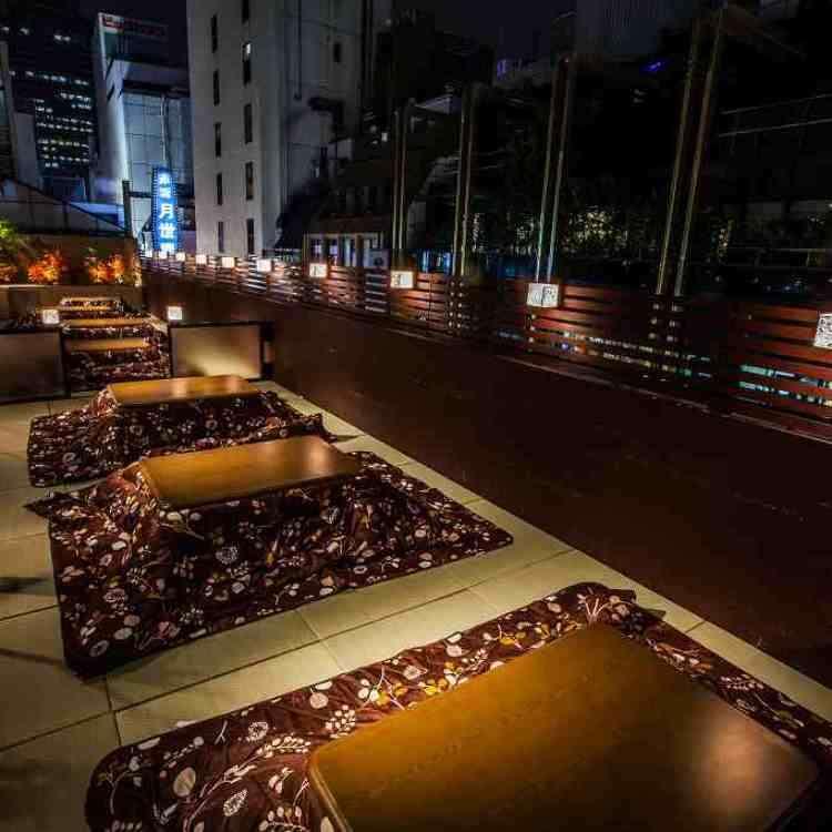 Gourmet Trend: Kotatsu Terrace, A Cozy Experience under Tokyo's Winter Night Sky