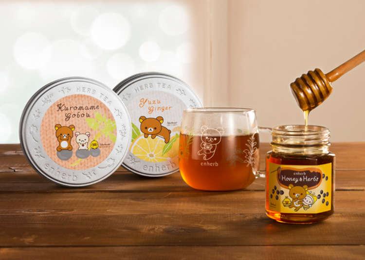 轻松熊(Rilakkuma)包装的草本茶,伴您渡过暖暖的冬日!