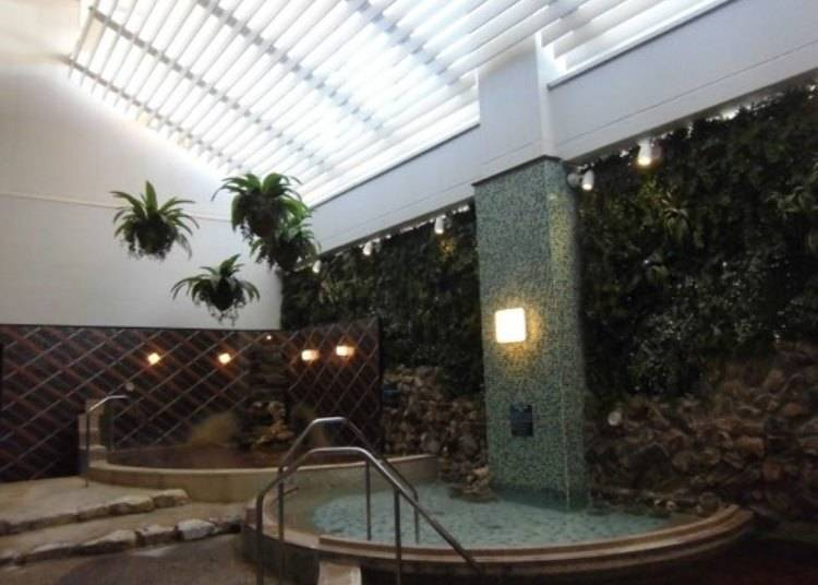 SPA EAS: The Most Popular Hot Spring in Yokohama, Right at the Station!