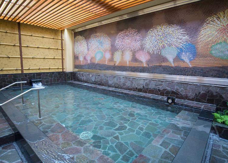 羅馬浴場再現!新宿鬧區中的靜謐空間「Thermae湯」
