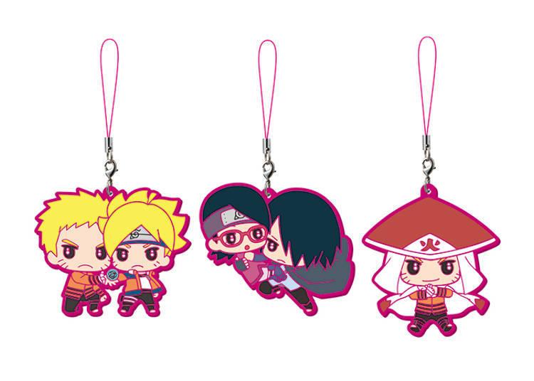 Adorable Capsule Rubber Mascots from Boruto: Naruto the Movie