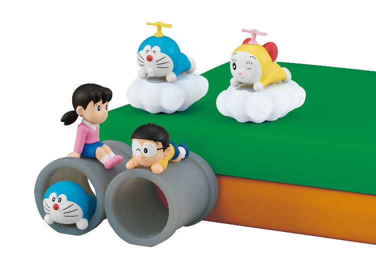 These Squishy Doraemon Figurines Will Pretty-up Your Desk!