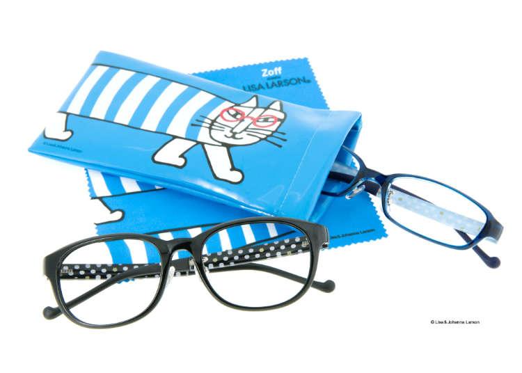 【限定コラボ】世界初!Zoff×リサ・ラーソンほっこり眼鏡シリーズ