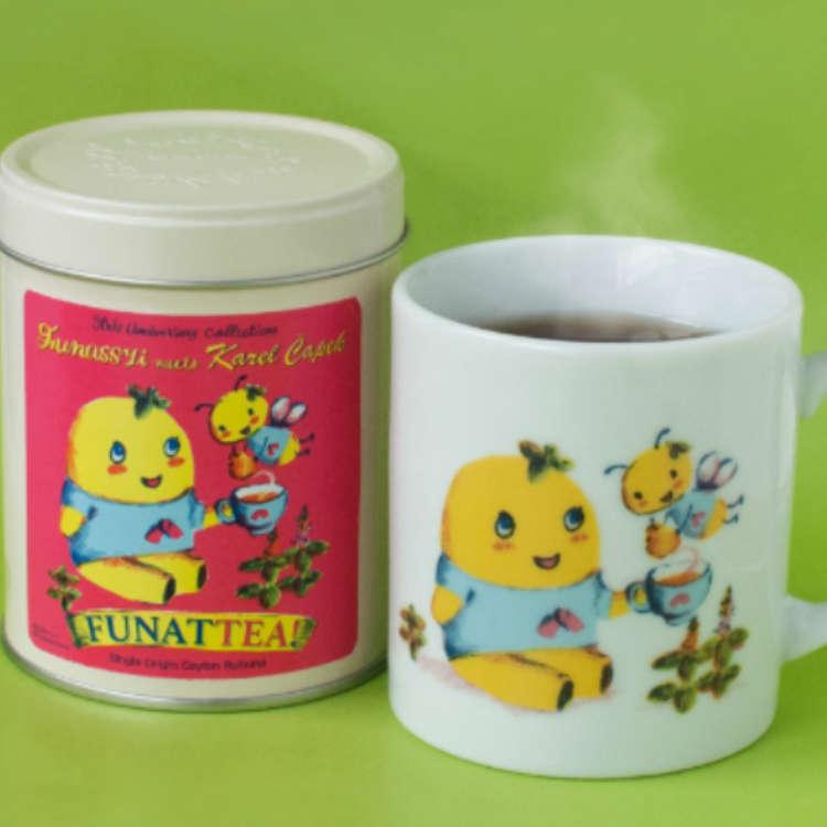 【流行商品】太可愛了!享用療癒系的船梨精紅茶來度過歡樂品茶時光