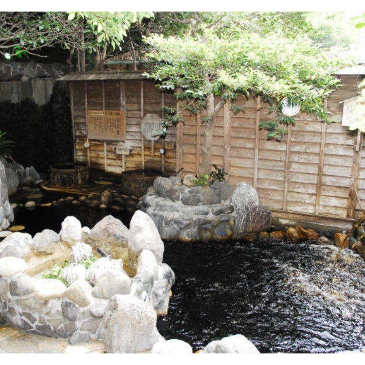 黒色の温泉で美肌に!東京のおすすめの「黒湯」3選