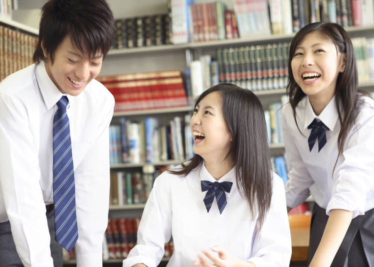 8. Japanese School Uniforms, Actually a Good Idea!