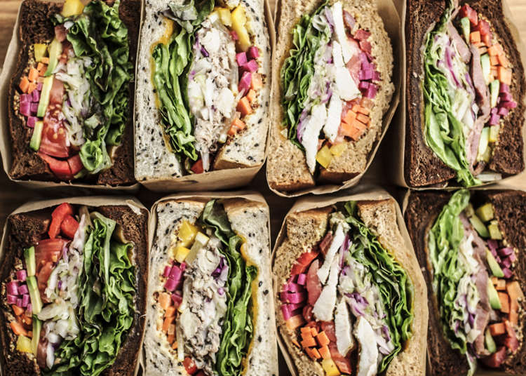도쿄에서 맛있는 샌드위치로 유명한 맛집 7곳!