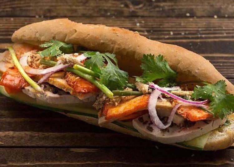 베트남풍 샌드위치