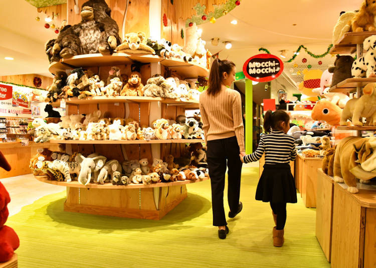 Second Floor: Meet and Greet with Over 15,000 Plushies