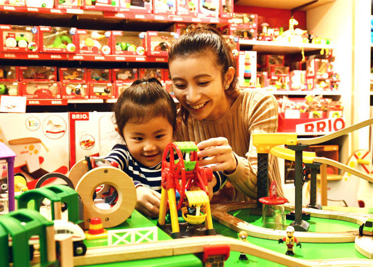 Third Floor: Intriguing Toys for the Littlest Ones