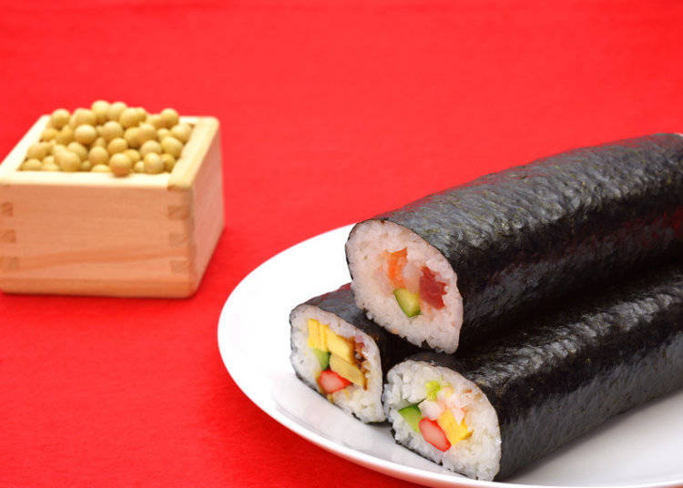 Eho-maki: A Long and Lucky Sushi Roll