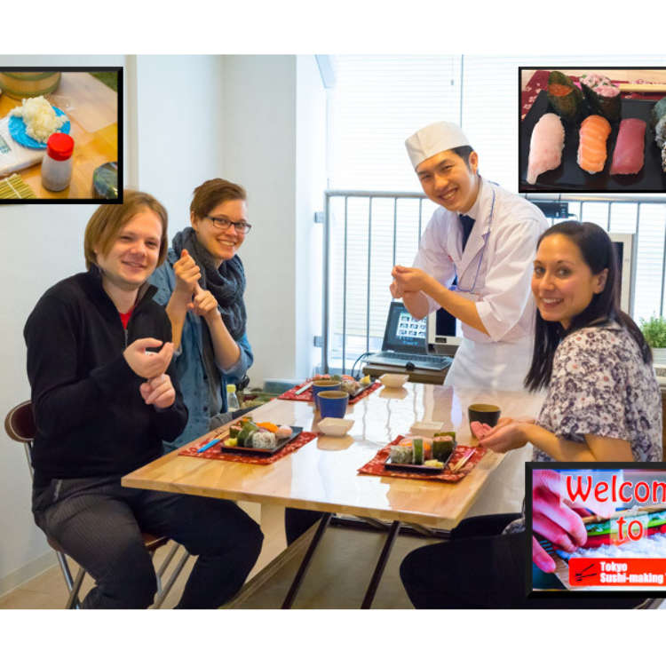 [MOVIE] 배우고, 만들고, 먹는다?! 도쿄 초밥 만들기 체험