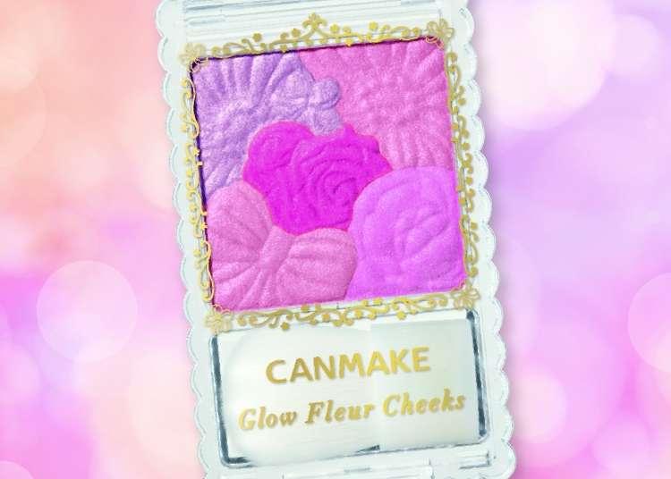 【コスメ&ビューティー】青みピンクが新鮮!CANMAKEでほっぺに恋の花が咲く!?
