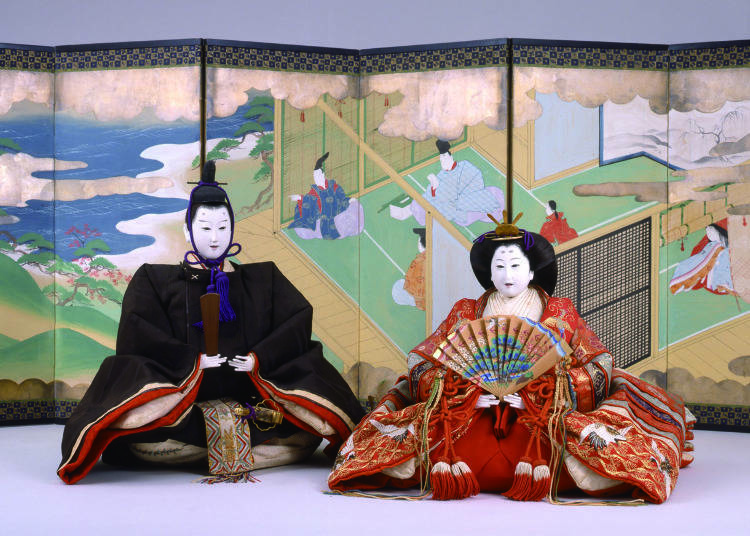 The Hina Dolls of the Mitsui Family