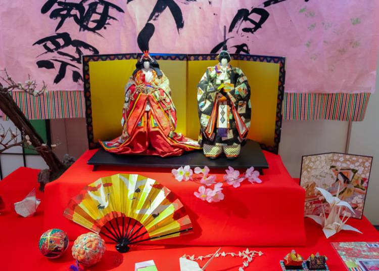 日本古来の伝統的なアート、おりがみ