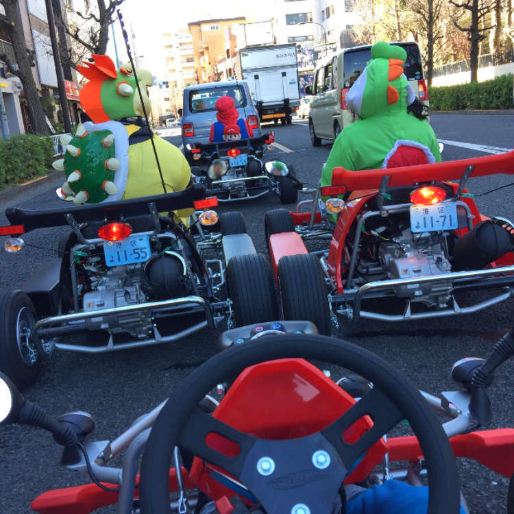 [MOVIE] It's a Me, Mario! Experiencing Tokyo's Streets on Go Karts!