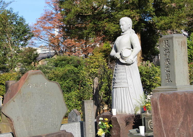Ginko Ogino: Smiling Confidently over Zoshigaya's Graves