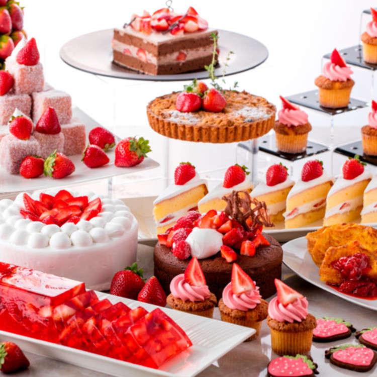 """在小田原希爾頓酒店享受頂級的""""草莓時光""""!"""
