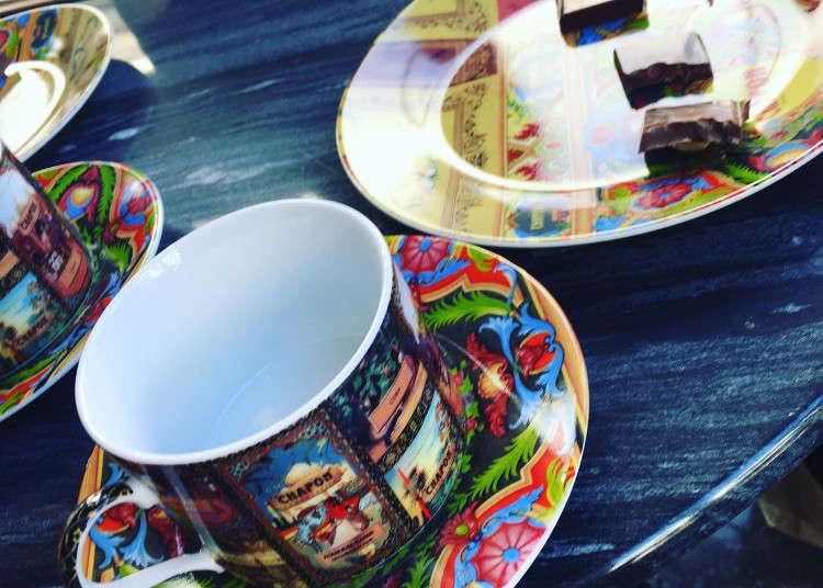 巴黎的老牌巧克力品牌首次登陸日本!也是世界首創附設咖啡廳喔
