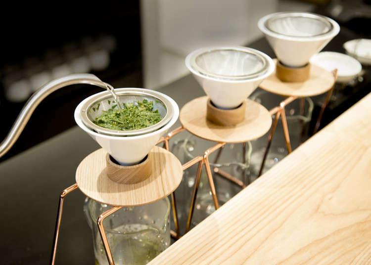 世界首家!位于三轩茶屋的手工沏制日本茶茶馆