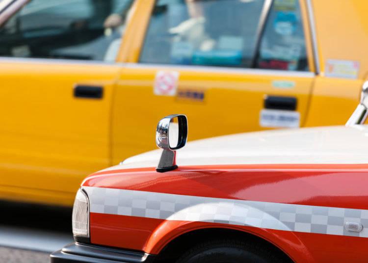 การจ่ายค่าแท็กซี่