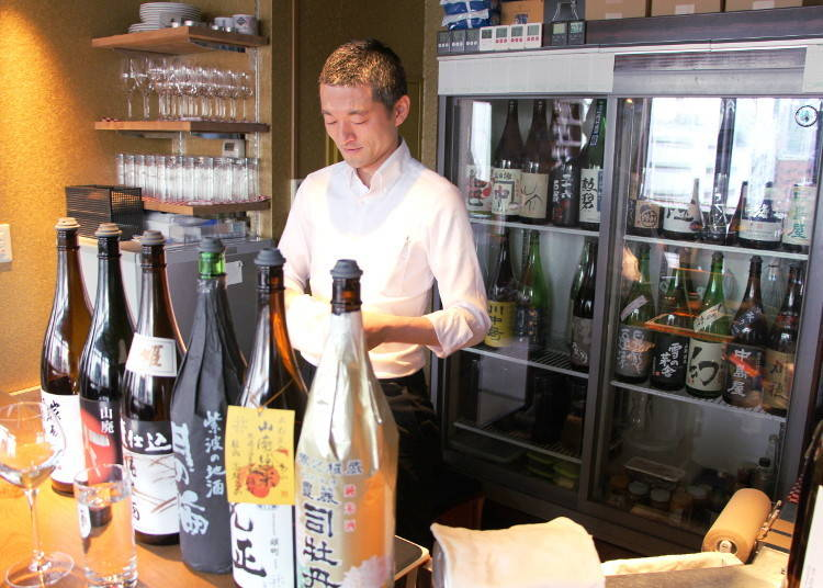 How to Find a Sake Bar