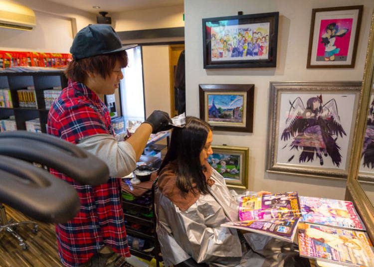 OFF-KAi!!: A Hair Salon for Anime Fans