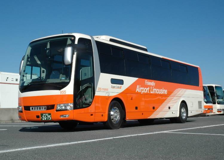 目的地へ直行!各所を網羅するエアポートバス