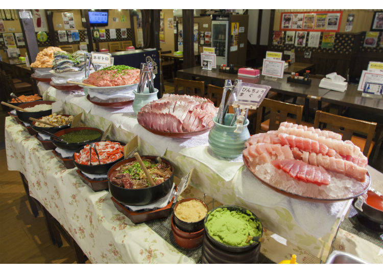 Have a Healthy Appetite for the All-You-Can-Eat Sashimi Lunch!