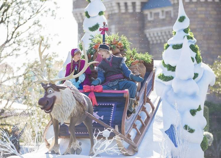Become a Part of Frozen with the Frozen Fantasy Parade
