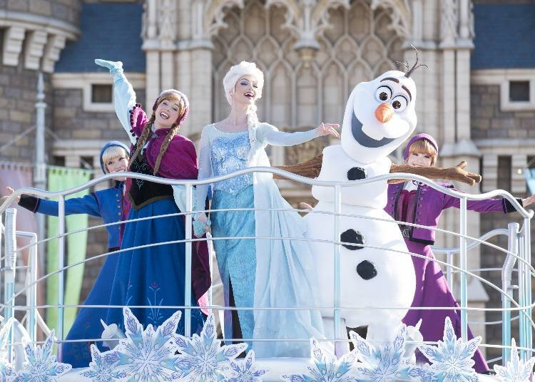Sing and Dance with your Favorite Characters at Anna and Elsa's Winter Greeting