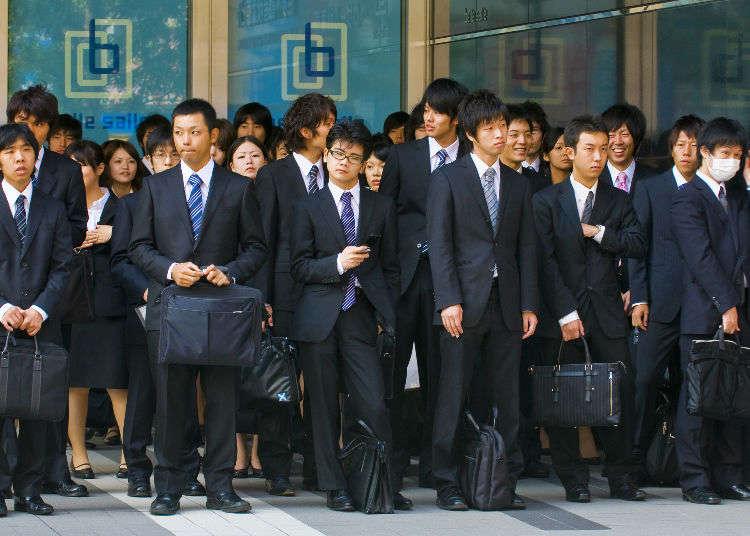 일본의 대학생들도 취업때문에 괴롭다?