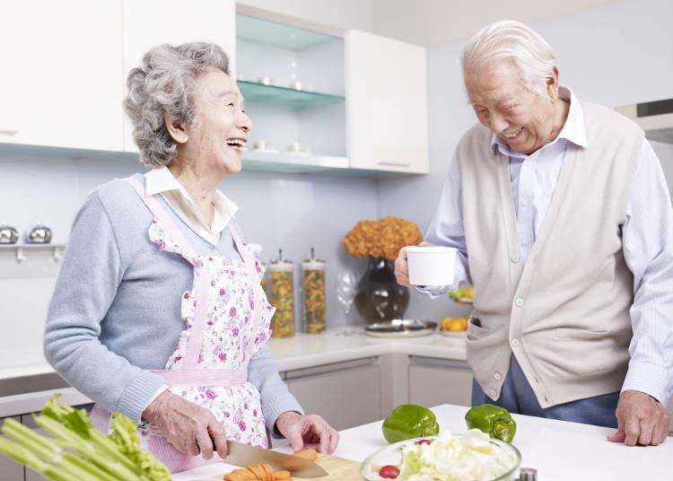 日本果然是個長壽國家!2016年最新數據,男性平均壽命80.79年,女性87.05年,創下歷史新高!