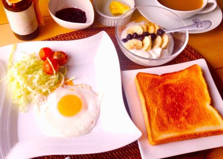 Real Japan: Preparing a Western-Style Breakfast!