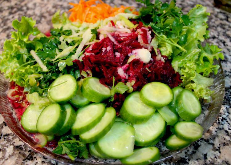Indispensable: Fresh Vegetables!