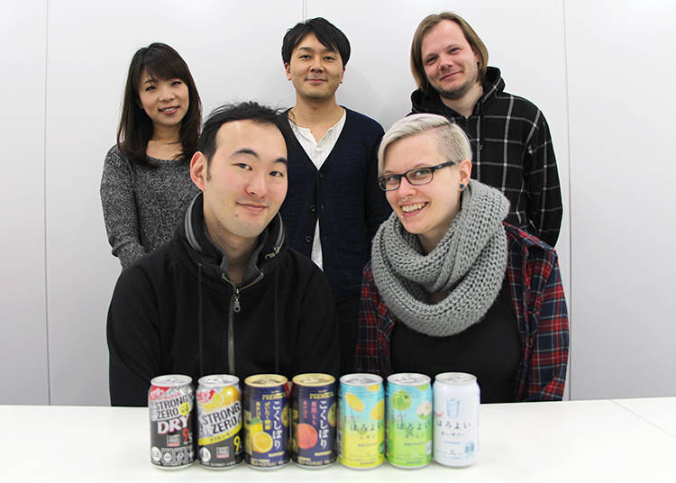 The Five Chuhai Taste Testers
