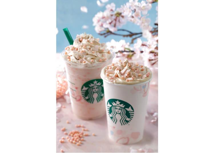 Starbucks Sakura Series: Frappuccino Fabulousness!
