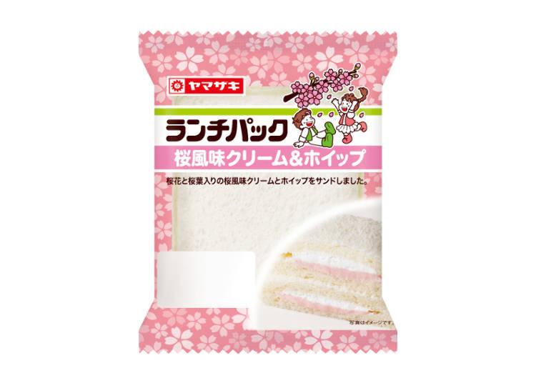 A Sweet Sakura Lunch Sandwich