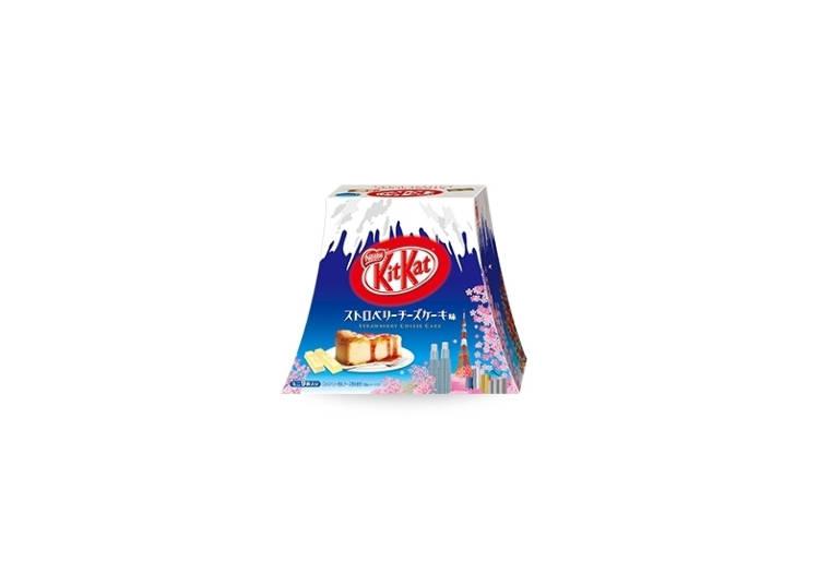Spring Fever with KitKat Mini Strawberry Cheesecake – Mount Fuji Edition