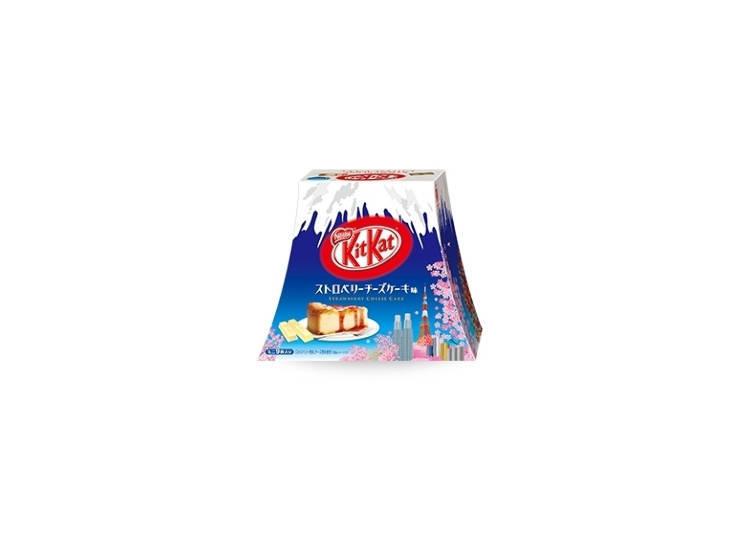 キットカット ミニ ストロベリーチーズケーキ味 富士山パック 9枚