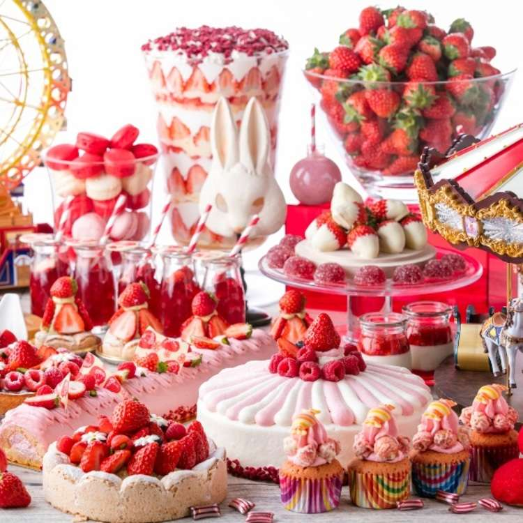 The Japanese Strawberry Buffet Experience: Get a Real Taste of Spring!