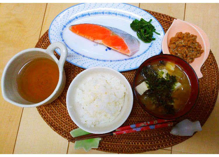 일반가정을 방문해서 본 일본인의 아침식사 (일식편)