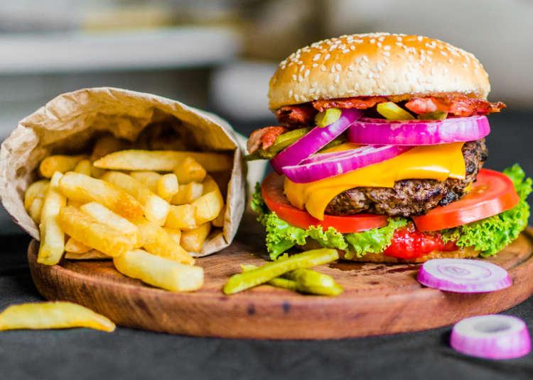 도쿄의 인기 햄버거 BEST 6