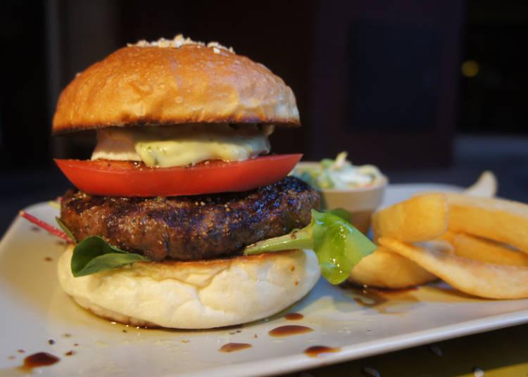 Fatz's Koenji - The Burger with California Cool